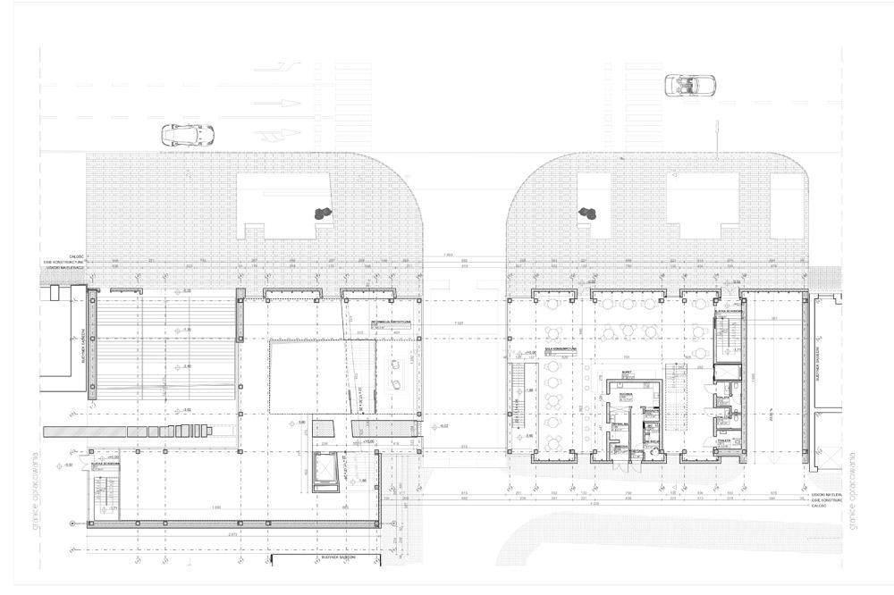 """Dyplomy Architektury: """"Nowa Brama Bielska"""" w Płocku. Autor: mgr inż. arch. Marcin Tomaszewski"""