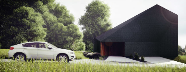 Czarna Skała – Projekt domu we wsi Jaworze pracowni MUS Architects