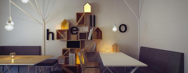 """""""Drzwi Zwane Koniem"""" – wnętrza klubokawiarni projektu studia MUS Architects"""