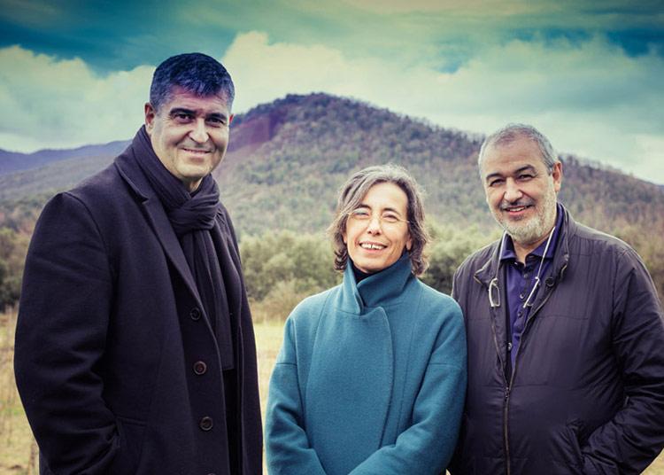 Założycie pracowni RCR Arquitects: Rafael Aranda, Carme Pigem i Ramon Vilalta. Zdjęcie: Javier Lorenzo Domínguez