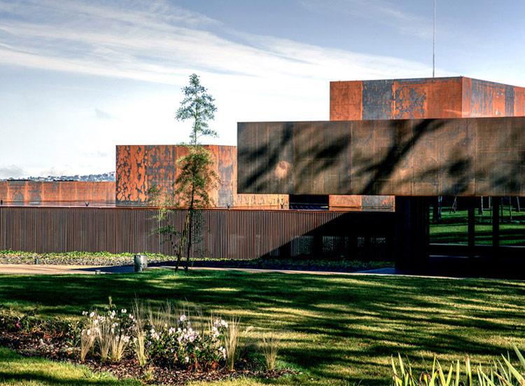 Muzeum Soulages. Zdjęcie: Hisao Suzuki