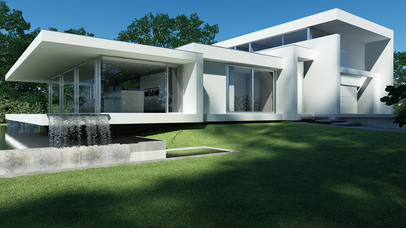 Projekt: Beton House | Seweryn Nogalski