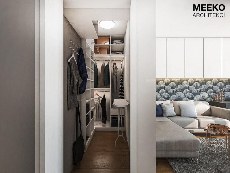Apartament Smart&COsy w Krakowie. Projekt wnętrz: MEEKO Architekci