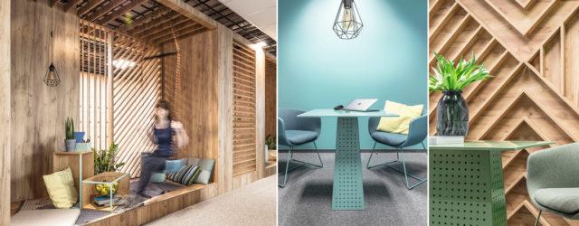 Przyjazne biuro – wnętrza zespołu Call-Center projektu studia Metaforma Architekci