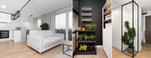 Linear Workflow – Biało-czarne wnętrza mieszkania projektu 1MM Studio