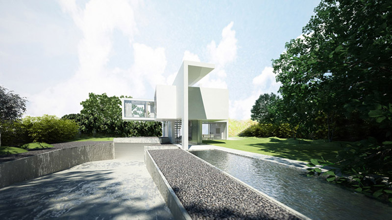 Yuppi House. Projekt: BETON HOUSE | Seweryn Nogalski