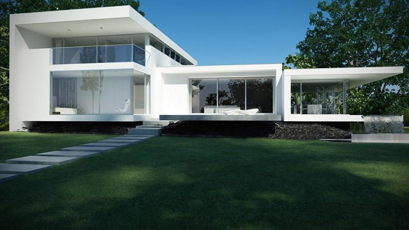 Glass House. Projekt: BETON HOUSE | Seweryn Nogalski