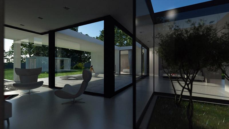 FLAT HOUSE. Projekt: BETON HOUSE | Seweryn Nogalski