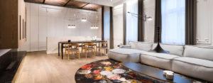 Nowoczesny design w klasycznym wnętrzu – apartament w kamienicy projektu Nasciturus Design