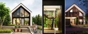 Botanic House – Projekt domu pod Wrocławiem pracowni SK-Architekci