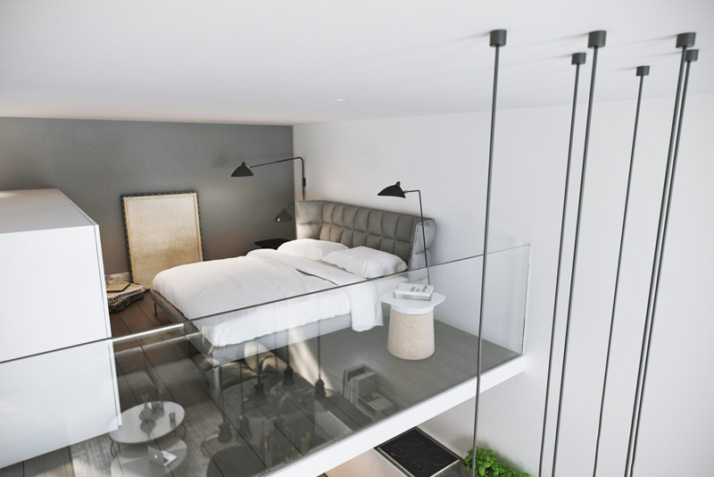 Wnętrza łódzkiego loftu. Projekt: DEKAA Architects