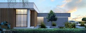 T-House – Dom w podmiejskim krajobrazie studia JABRAARCHITECTS