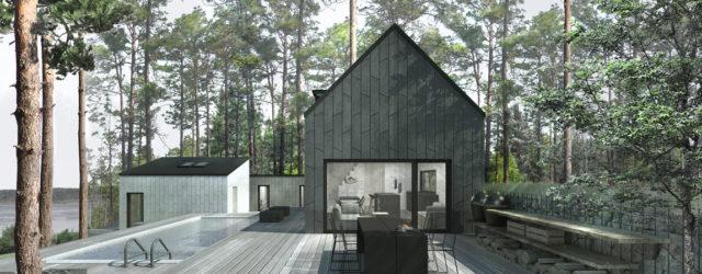 Dom letniskowy na szwedzkim archipelagu otwarty na gości projektu polskiej pracowni Libido Architekci
