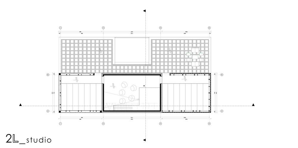 Miejska willa we Wrocławiu. Projekt: 2L_studio | Łukasz Ługowski