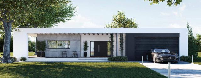 Dom w Ramce w Jeżowie Sudeckim projektu studia SK-Architekci