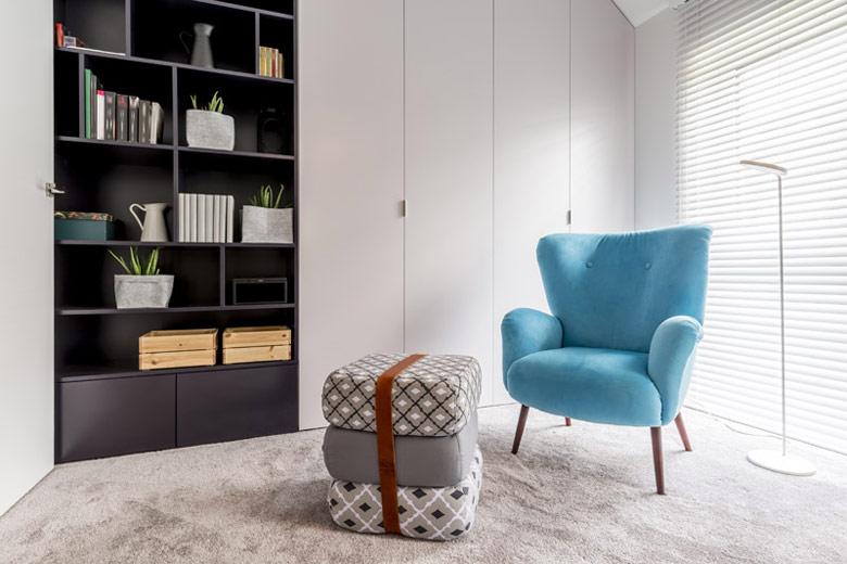 Wnętrze mieszkania w Łodzi. Projekt: KK Architekci   Katarzyna Kosiorek