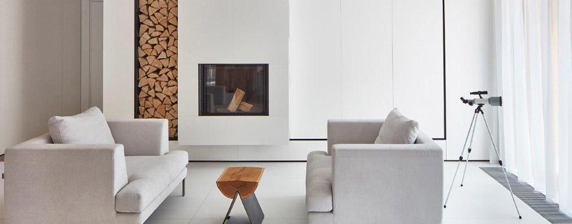 Wnętrza apartamentu. Projekt: 81.WAW.PL