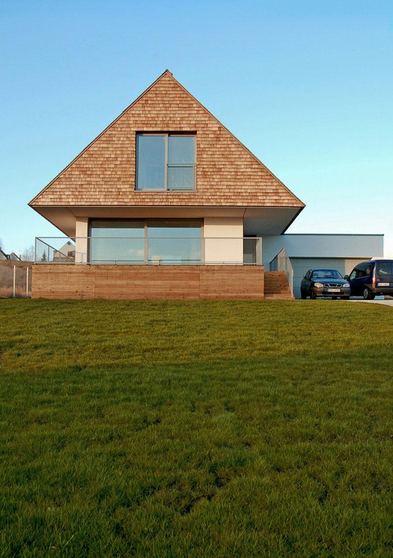 Dom z widokiem w Mogilanach. Projekt: doomo studio architektoniczne