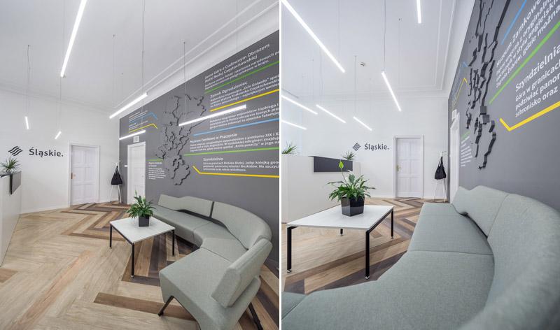 Wnętrza biurowe Urzędu Marszałkowskiego. Projekt: musk. Zdjęcia: Artur Jurkowski