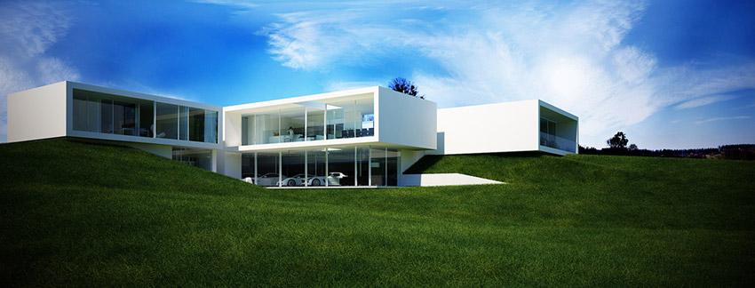 Rezydencja w Bielsku-Białej. Projekt: Beton House | Seweryn Nogalski