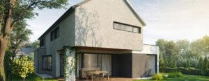 Dom jednorodzinny w Rembertowie Pracowni Projektowej Bień Architekci