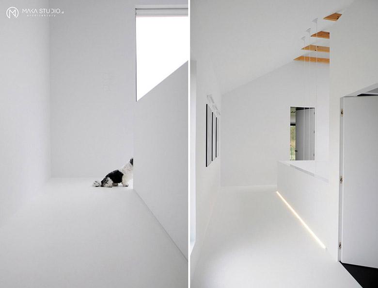 Wnętrza domu jednorodzinnego. Projekt: MAKA Studio. Zdjęcia: Tom Kurek, MAKA Studio