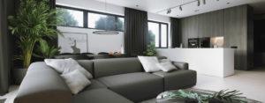 Połączenie kontrastów – apartament projektu DEKAA Architects