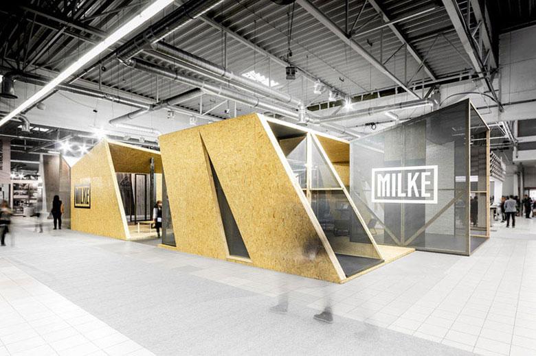 Pawilon targowy MILKE. Projekt: mode:lina™. Zdjęcia: Patryk Lewiński