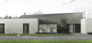 Dom po przekątnej projektu studia Libido Architekci