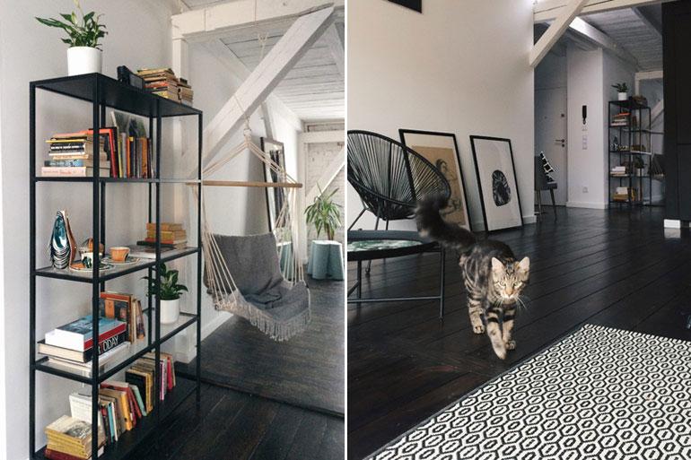 Wnętrze mieszkania w kamienicy. Projekt: NOFO | Katarzyna Małkiewicz. Zdjęcia: Sandra Rabczewska