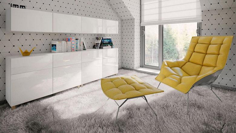 Wnętrza domu Z. Projekt: STOPROCENT Architekci