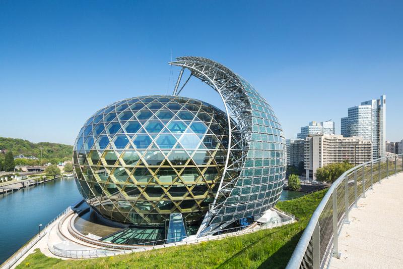 La Seine Musicale, Paryż, Francja. Architekt: Shigeru Ban Architects Europe, Jean de Gastines Architectes