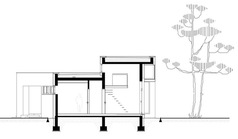 FIL House, Konstancin-Jeziorna. Architektura: BECZAK / BECZAK / ARCHITEKCI.