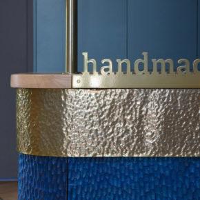 """Wnętrze agencji reklamowej """"Hand Made"""". Autorzy: Beza Projekt"""