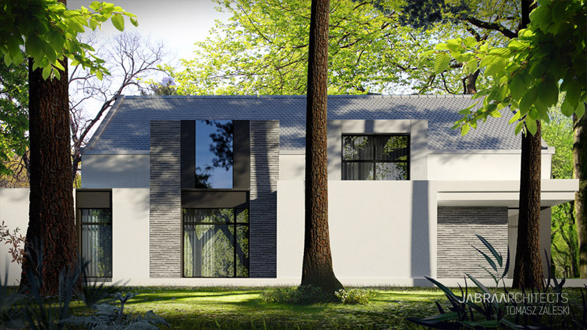 Forrest House, Wrocław. Projekt: JABRAARCHITECTS