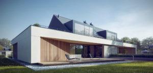 Zespół domów w Wiślince pracowni JPP Architekci