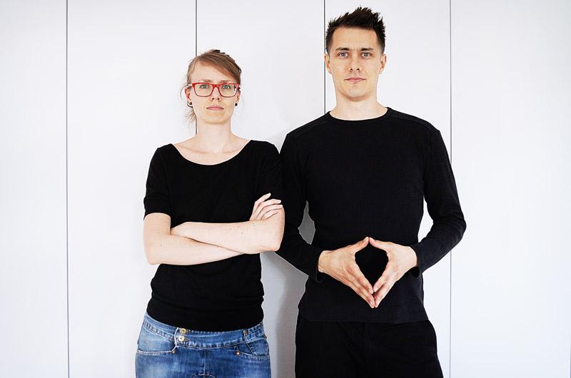 Zespół MUS Architects: Anna Porębska, Adam Zwierzyński