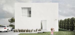 DOM projektu pracowni Ktura Architekci – zwarta i funkcjonalna przestrzeń dla młodej rodziny