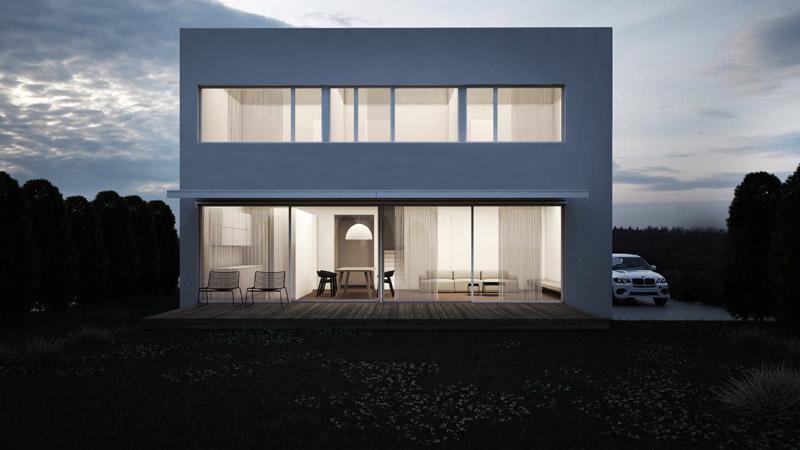 DOM, Poznań. Projekt: Ktura Architekci. Wizualizacje: Patrycja Łajs