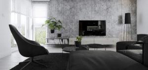 Wnętrza apartamentu projektu HATCH Studio