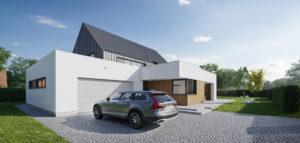 Dom w Złotnikach projektu studia MEEKO Architekci