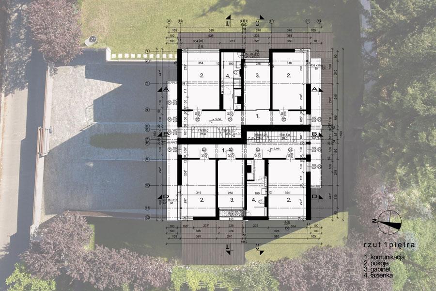 Dom 69 w Krakowie. Projekt:RS+ | Robert Skitek.