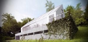 Dom miłośnika wina projektu Autograf Studio