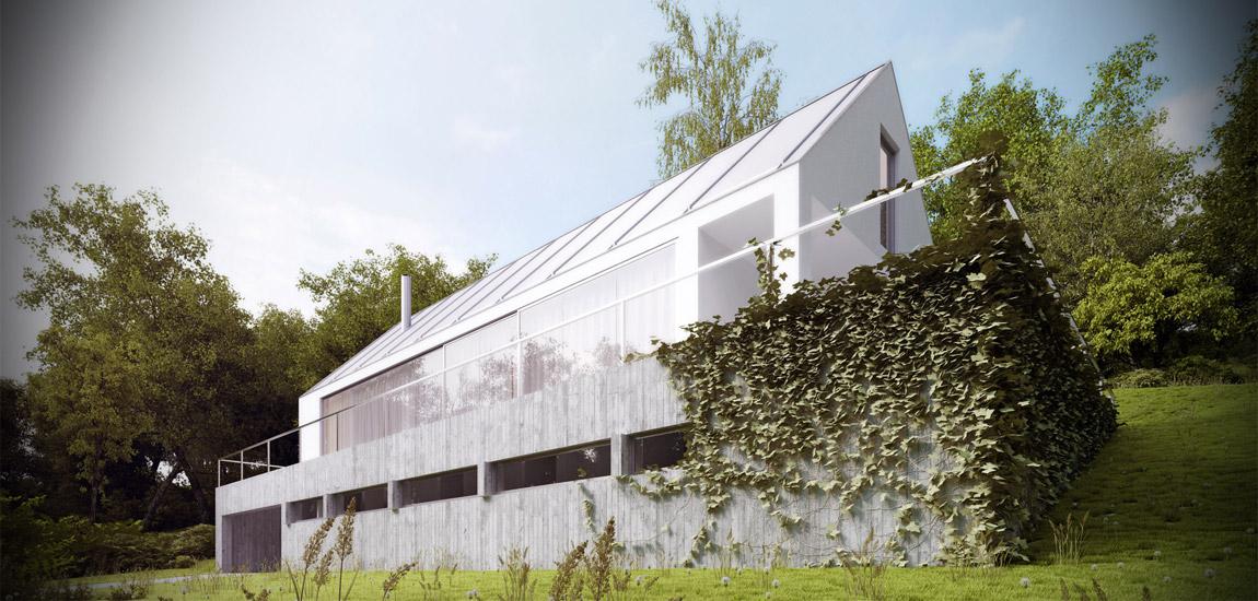 Dom miłośnika Wina pod Krakowem. Projekt: Autograf Studio | Marcin Galas, Tomasz Smuga