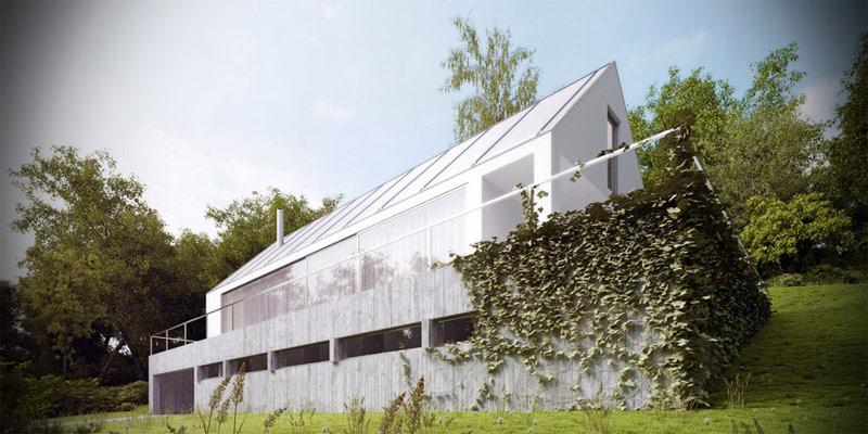 Dom miłośnika Wina pod Krakowem. Projekt: Autograf Studio |Marcin Galas, Tomasz Smuga