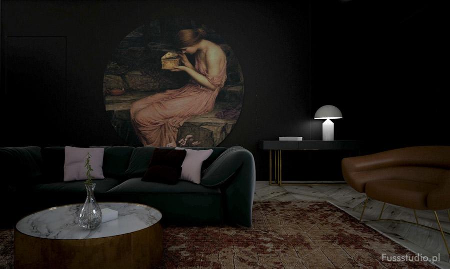 Apartament w kamienicy. Projekt wnętrz: Fuss Studio