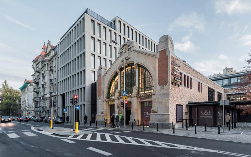 Hala Koszyki, Warszawa. Projekt architektoniczny: JEMS Architekci. Zdjęcia: Juliusz Sokołowski