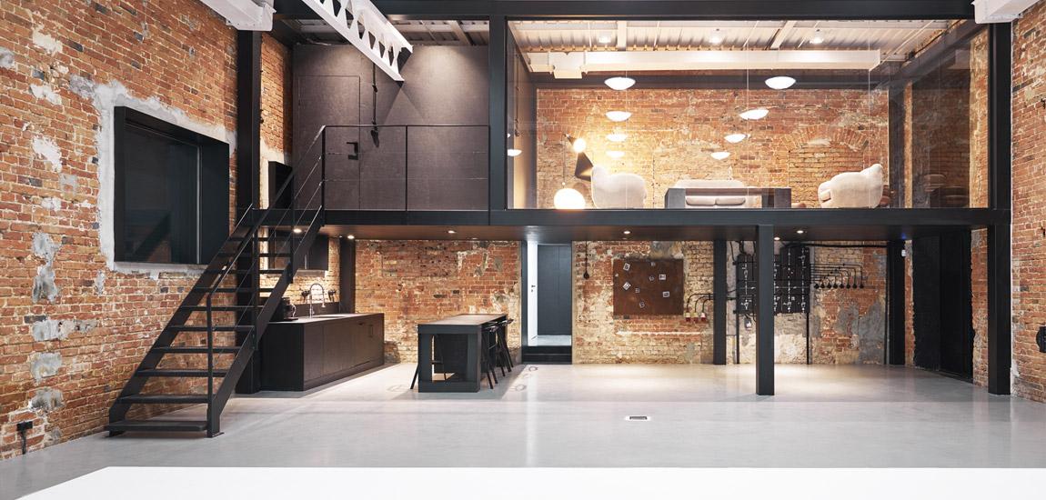 Nowe życie w zdegradowanej postindustrialnej hali – Studio projektu mess architects
