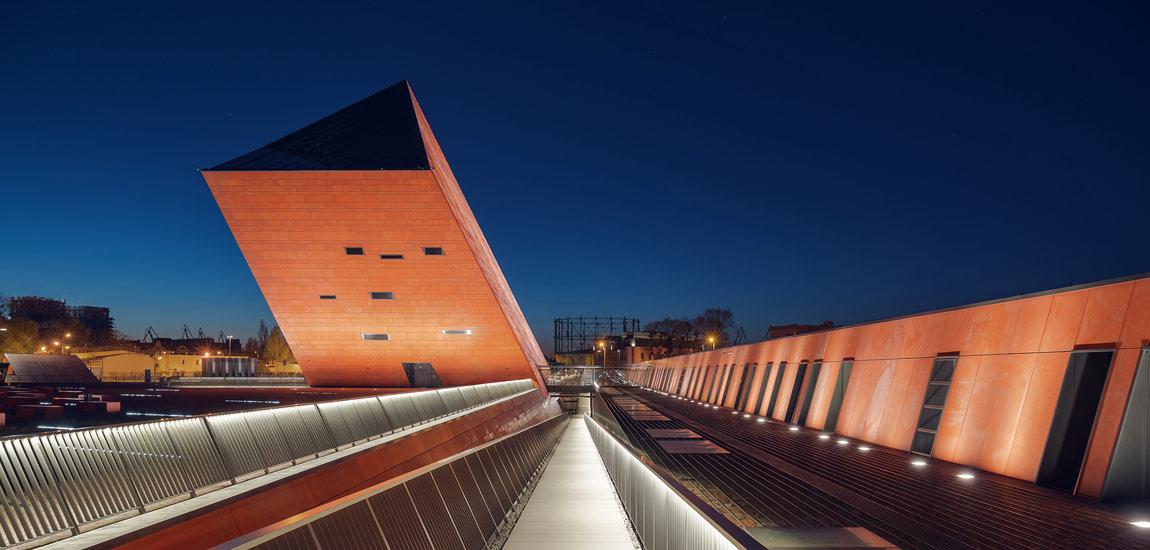 Muzeum II Wojny Światowej w Gdańsku – Współczesna ikona projektu Studia Architektonicznego Kwadrat