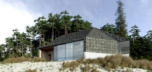Dom przy plaży projektu studia ZUP-A